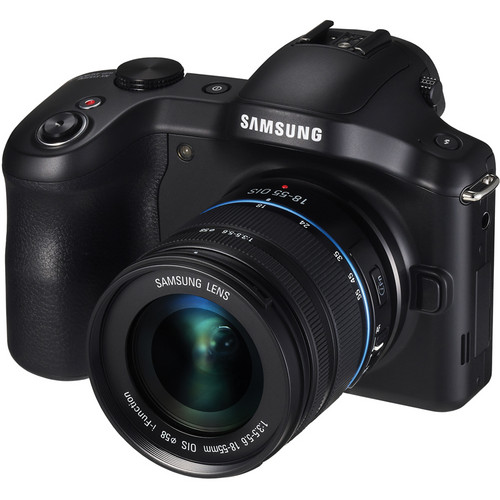 Samsung Galaxy NX Mirrorless Digital Camera with 18-55mm Lens