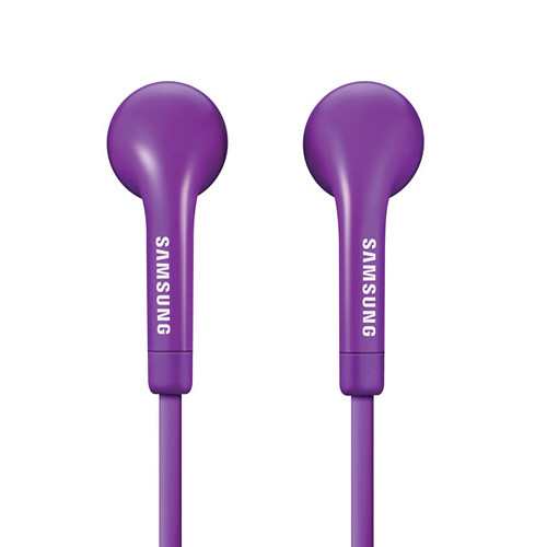 Samsung HS330 Wired Headset With Inline Mic and Remote Control (Purple)