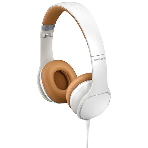 Samsung Level On Premium On-Ear Stereo Headphones (White)