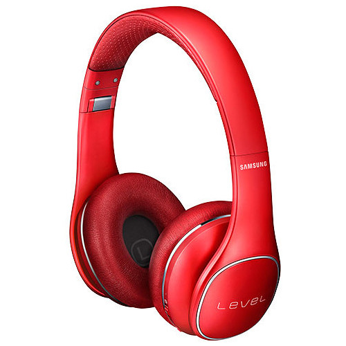 Samsung Level On Wireless Noise-Canceling Bluetooth Headphones (Red)