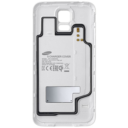 Samsung Galaxy S5 Wireless Charging Cover (White)