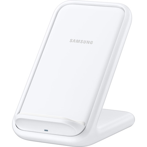 Samsung 15W Qi Certified Fast Charge Wireless Charging Stand (White)