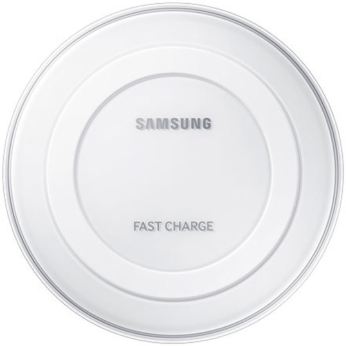Samsung Fast Charge Qi Wireless Charging Pad (White)