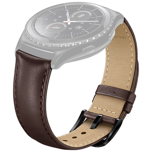 Samsung Leather Band for Gear S2 Classic (Brown)