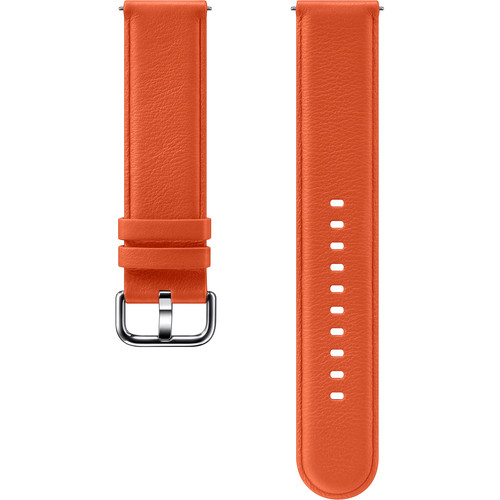 Samsung Leather Band for Galaxy Watch Active2 (Orange)