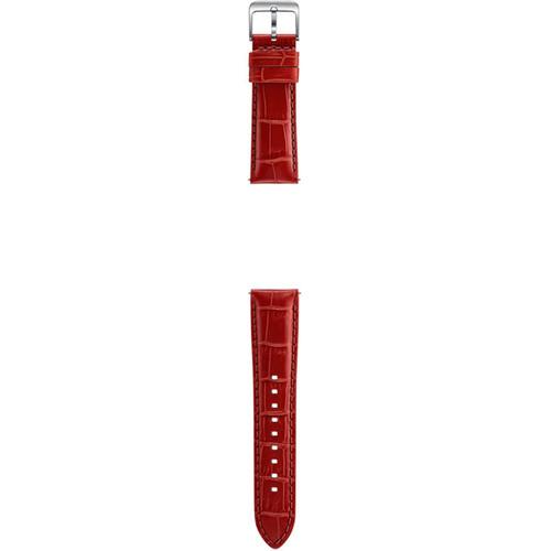 Samsung Alligator Grain Leather Band (Red)