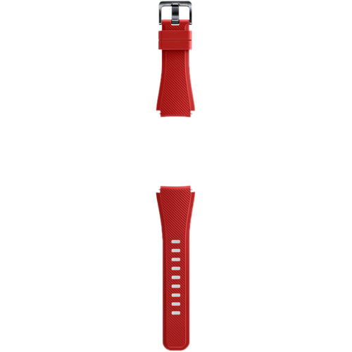 Samsung Silicon Band for Gear S3 (Red)