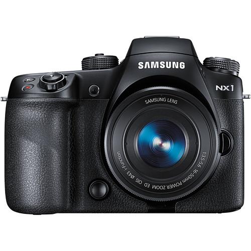 Samsung NX1 Mirrorless Digital Camera with 16-50mm Power Zoom Lens