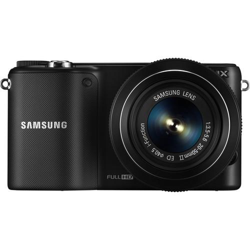 Samsung NX2000 Mirrorless Digital Camera with 20-50mm f/3.5-5.6 Lens (Black)