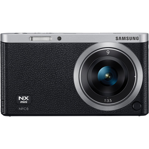 Samsung NX Mini Mirrorless Digital Camera with 9mm Lens (Black)