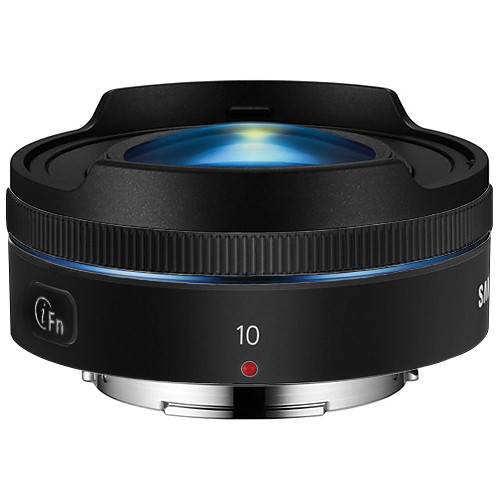Samsung 10mm f/3.5 Fisheye Lens (Black)