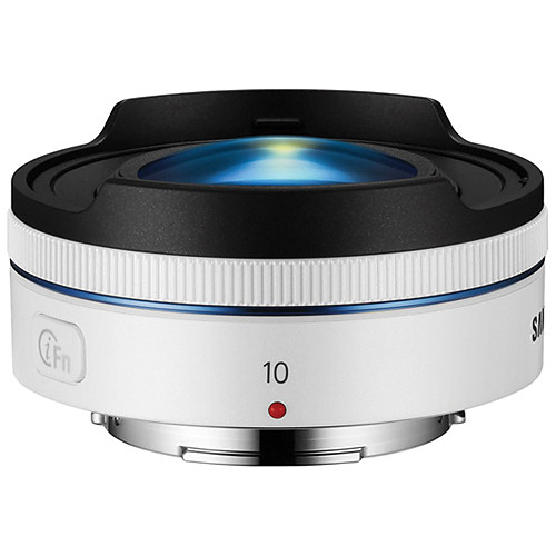 Samsung 10mm f/3.5 Fisheye Lens (White)