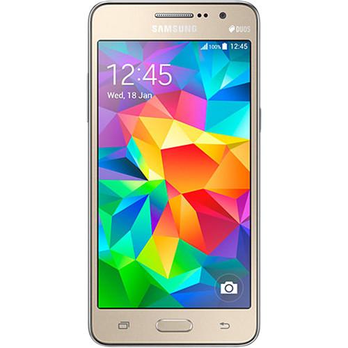 Samsung Galaxy Grand Prime SM-G531H/DL 8GB Smartphone (Region Specific Unlocked, Gold)