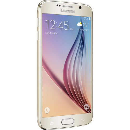 Samsung Galaxy S6 SM-G920A 64GB AT&T Branded Smartphone (Unlocked, Gold Platinum)
