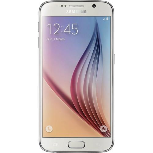 Samsung Galaxy S6 SM-G920F 32GB Smartphone (Unlocked, White Pearl)