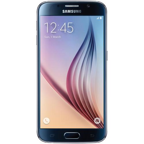 Samsung Galaxy S6 SM-G920I 32GB Smartphone (Region Specific Unlocked, Black Sapphire)