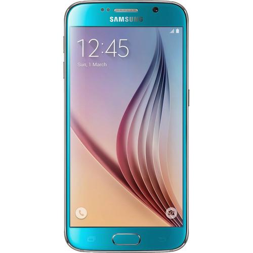 Samsung Galaxy S6 SM-G920I 32GB Smartphone (Region Specific Unlocked, Blue Topaz)