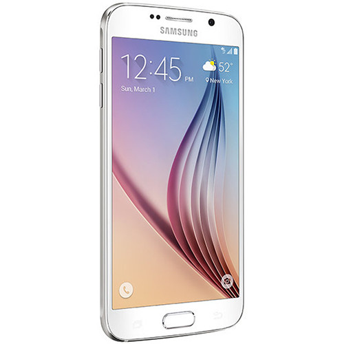 Samsung Galaxy S6 SM-G920T 64GB T-Mobile Branded Smartphone (Unlocked, White Pearl)