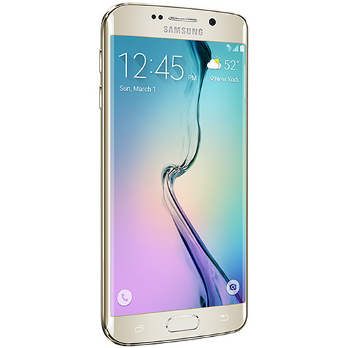 Samsung Galaxy S6 Edge SM-G925F 32GB Smartphone (Unlocked, Gold Platinum)