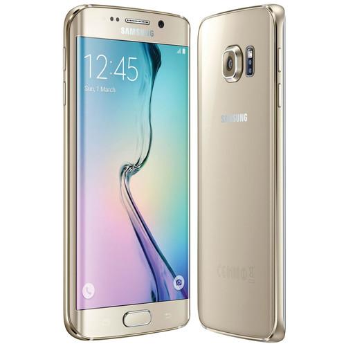 Samsung Galaxy S6 Edge SM-G925F 64GB Smartphone (Unlocked, Gold Platinum)
