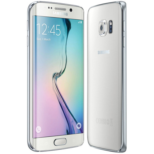 Samsung Galaxy S6 Edge SM-G925I 32GB Smartphone (Region Specific Unlocked, White Pearl)