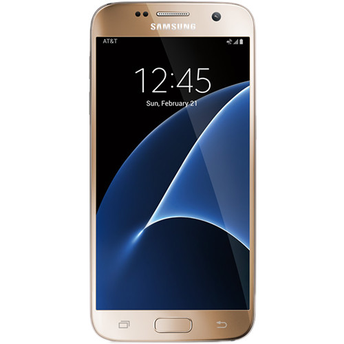 Samsung Galaxy S7 SM-G930A 32GB AT&T Branded Smartphone (Unlocked, Gold)