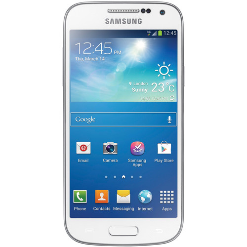 Samsung Galaxy S4 Mini GT-I9195I 8GB Smartphone (Unlocked, White)