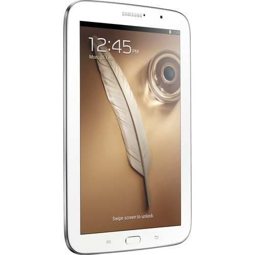 "Samsung 16GB Galaxy Note 8.0 Android 8"" Tablet (White)"