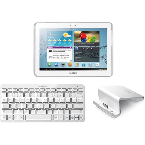 "Samsung 16GB Galaxy Tab 2 10.1"" Tablet Bundle (White)"