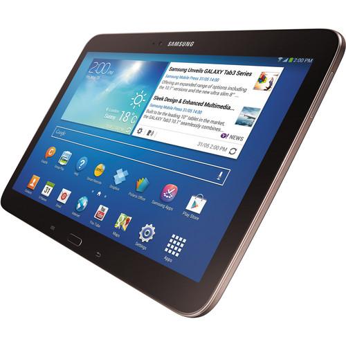 "Samsung 16GB Galaxy Tab 3 10.1"" Wi-Fi Tablet (Gold Brown)"