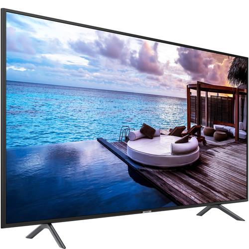 "Samsung 55"" 670U Series 4K UHD Premium LED Hospitality TV for Guest Engagement"