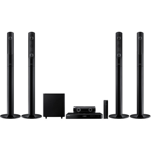 Samsung HT-J5550WKU 5.1 Channel Multi-System Blu-ray Home Theater System