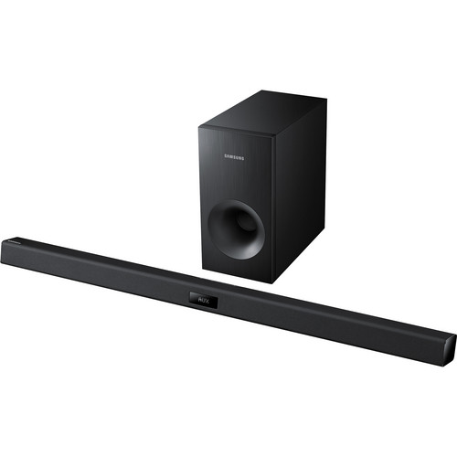 Samsung HW-F355 2.1 Channel Sound Bar System with Wired Subwoofer (Black)