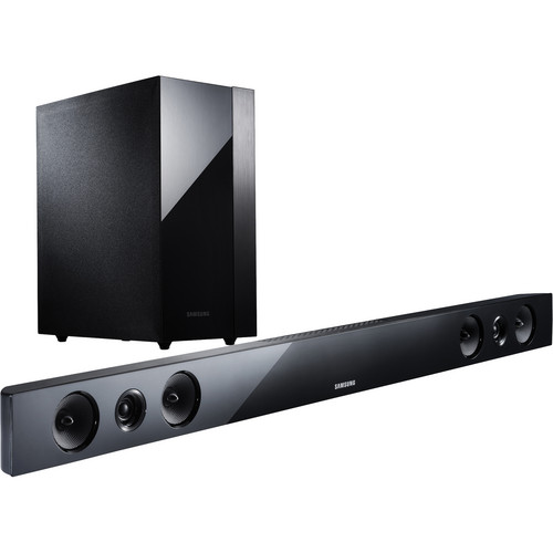 Samsung HW-F450 2.1 Channel Sound Bar System with Wireless Subwoofer (Black)
