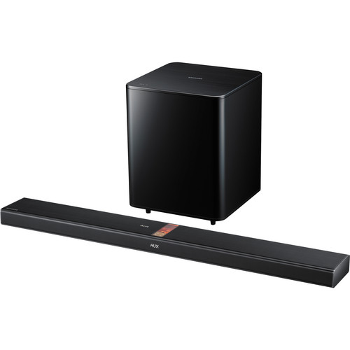 Samsung HW-F750 2.1 Channel Sound Bar with Vacuum Tubes (Black)