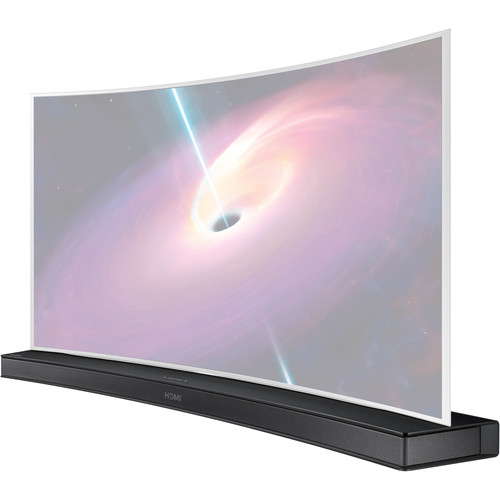 Samsung HW-J7500 320W 8.1-Channel Curved Soundbar Speaker System (Black)