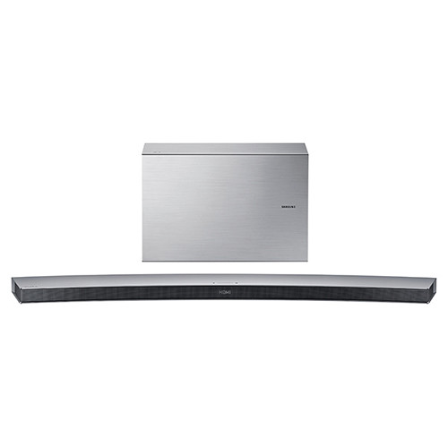 Samsung HW-J7501 320W 8.1-Channel Curved Soundbar Speaker System (Silver)
