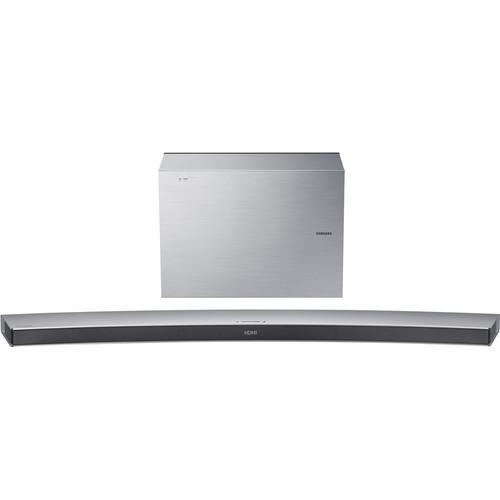 Samsung HW-J7501R 320W 4.1-Channel Curved Soundbar System (Silver)