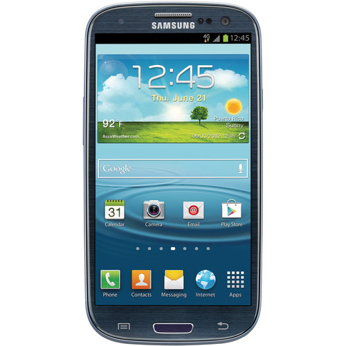 Samsung Galaxy S III 16GB AT&T Branded Smartphone (Unlocked, Blue)