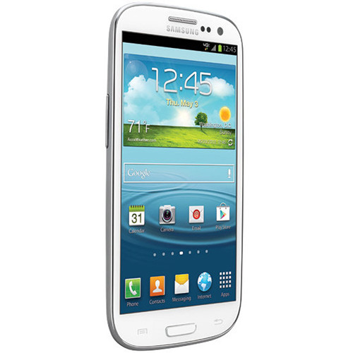 Samsung Galaxy S III 16GB AT&T Branded Smartphone (Unlocked, White)