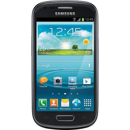 Samsung Galaxy S III mini VE GT-I8200L 8GB Smartphone (Unlocked, Black)