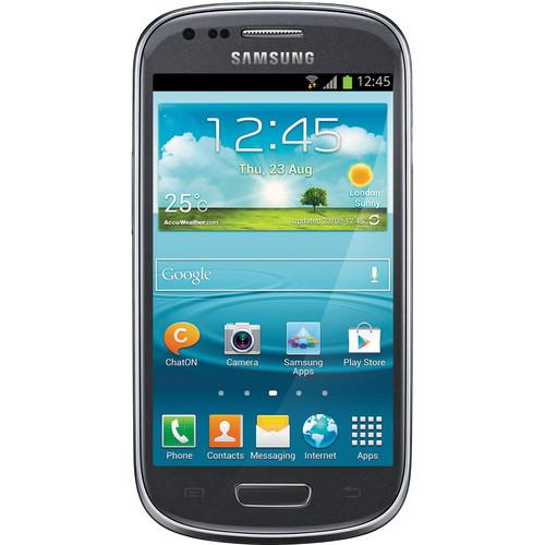 Samsung Galaxy S III mini VE GT-I8200L 8GB Smartphone (Unlocked, Grey)