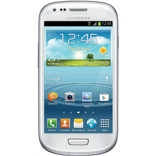 Samsung Galaxy S III mini VE GT-I8200L 8GB Smartphone (Unlocked, White)