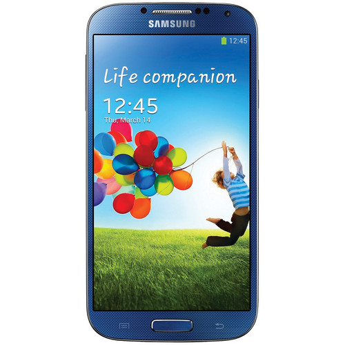 Samsung Galaxy S4 GT-I9500 16GB Smartphone (Region Specific Unlocked, Blue)