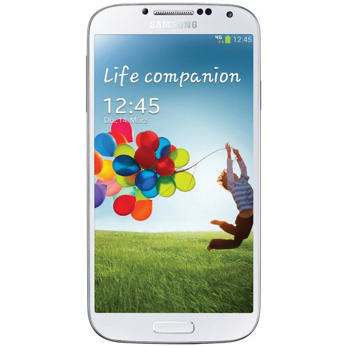 Samsung Galaxy S4 GT-I9505 International 16GB Smartphone (Unlocked, White)