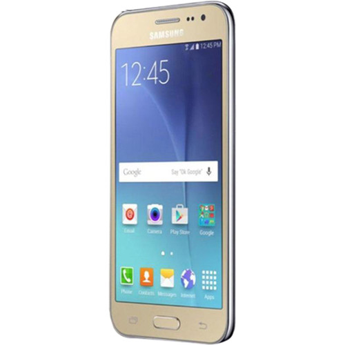 Samsung Galaxy J2 J200M 8GB Smartphone (Region Specific Unlocked, Gold)