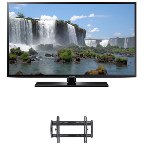 "Samsung J6201-Series 55""-Class Full HD Smart LED TV and Tilting Wall Mount Kit"
