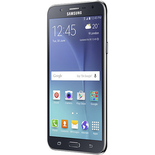 Samsung Galaxy J7 SM-J700M 16GB Smartphone (Region Specific Unlocked, Black)