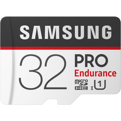 Samsung 32GB PRO Endurance UHS-I microSDHC Memory Card