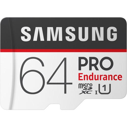 Samsung 64GB PRO Endurance UHS-I microSDXC Memory Card